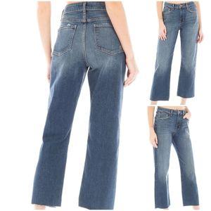 Fidelity Talia High Rise Wide Leg Jeans in GTO Vtg